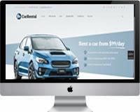 Modelos | Criação de Sites Para Aluguel de Carros 01