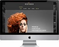 Modelos | Criação de Sites Para Cabeleireiro 04
