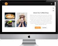 Modelo | Criação de Site Para Cafeteria 01