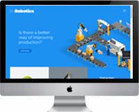 Modelo | Criação de Site Para Robótica 01