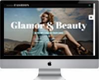 Modelos | Criação de Sites Para Agência de Moda 02
