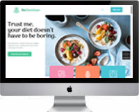 Modelos | Criação de Sites Para Nutricionista 02