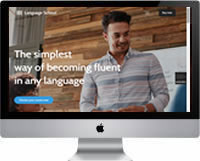 Modelos | Criação de Sites Para Escola de Idiomas 03