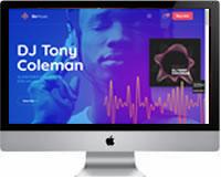 Modelos | Criação de Sites Para DJ 03