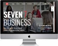 Modelos de criação de sites para empresas e negócios 06