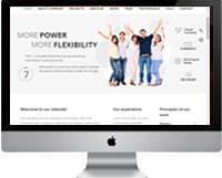 Modelos de criação de sites para empresas e negócios 07