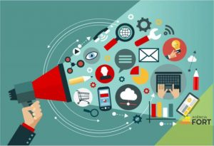 Divulgação de sites e serviços na web