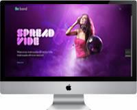 Modelos | Criação de Sites Para DJ 01
