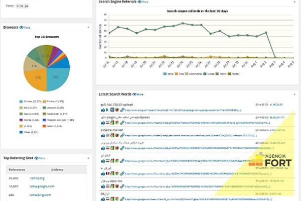 WP statistics   Agência Fort