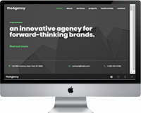 Modelo | Criação de Site Para Agência 02