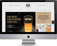Modelos | Criação de Sites Para Bar 06