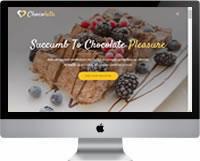 Modelos | Criação de Sites Para Chocolateria 02