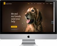 Modelos   Criação de Sites Para Abrigo de Animais 02