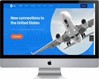 Modelos | Criação de Sites Para Empresa Aérea 03