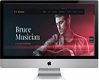 Modelos | Criação de Sites para Bandas de Musicas 05