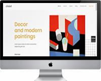 Modelos | Criação de Sites Para Galeria de Artes 02