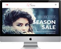 Modelos | Criação de Sites Loja de Moda