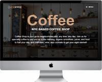 Modelo | Criação de Site Para Cafeteria