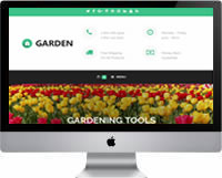 Modelos | Criação de sites para empresas de Jardinagem, jardineiros