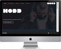 Modelos | Criação de Sites Para DJ 04