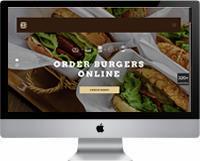 Modelos | Criação de Sites Lanchonetes, Hamburguerias, comida rápida 03