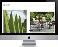 Modelos | Criação de sites para empresas de Jardinagem, jardineiros 03