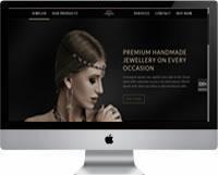 Modelos | Criação de sites para joalheria, loja de joias 02