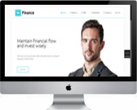 Modelos | Criação de Sites Para Negócios Financeiros 03